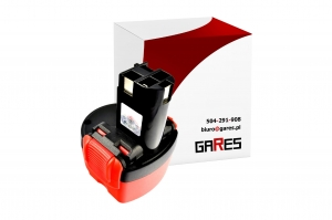 Gares Bateria Akumulator do Bosch PSR 960 VE-2 9,6V 1500mAh